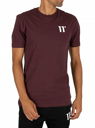 11 Degrees Mulled Red Core T-Shirt