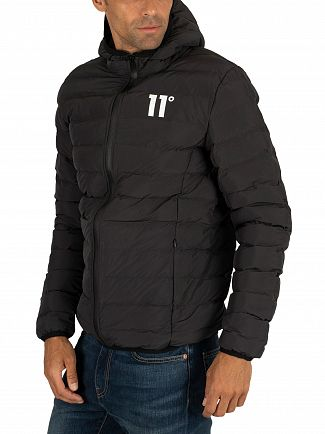 11 Degrees Black Space Puffer Jacket