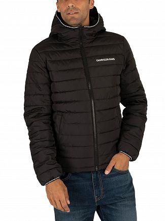 Calvin Klein Jeans Black Padded Hooded Jacket