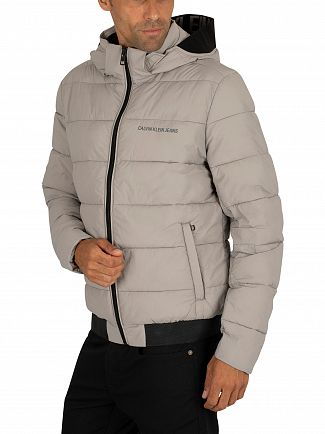 Calvin Klein Jeans Alloy Padded Stretch Puffer Jacket