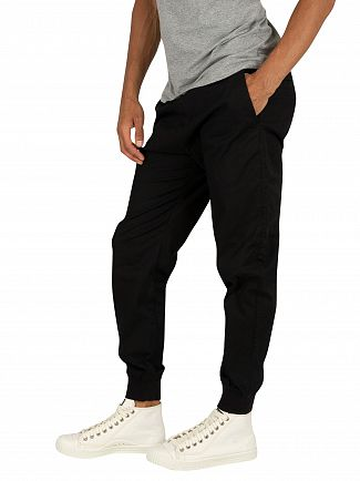 Carhartt WIP Black Rinsed Madison Joggers