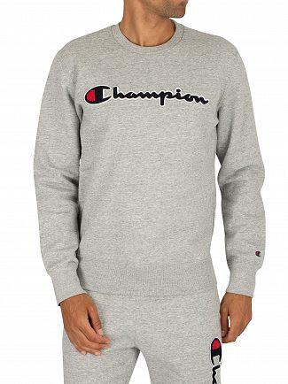 Champion Grey Graphic Sweatshirt