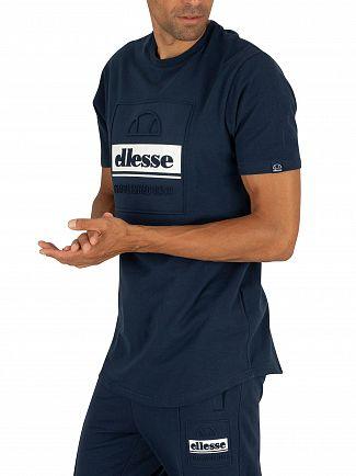 Ellesse Navy Adamello T-Shirt