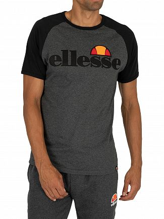 Ellesse Dark Grey Marl Piave T-Shirt
