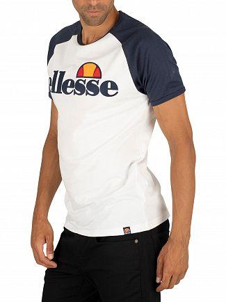 Ellesse White Piave T-Shirt