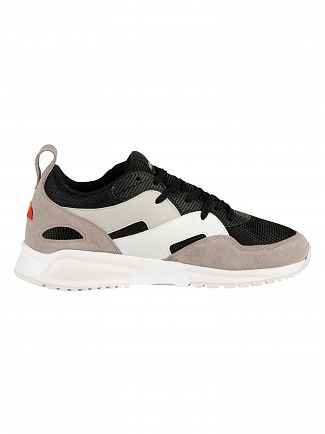 Ellesse Black/Grey/White Potenza Suede Trainers