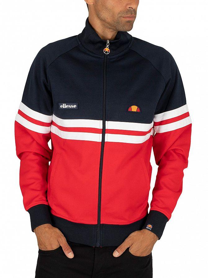 Ellesse Red Rimini Track Jacket
