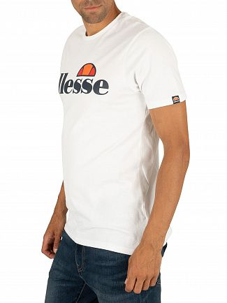 Ellesse White SL Prado T-Shirt