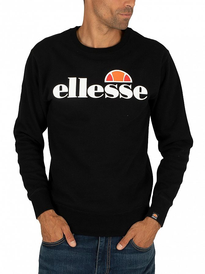 Ellesse Black SL Succiso Sweatshirt