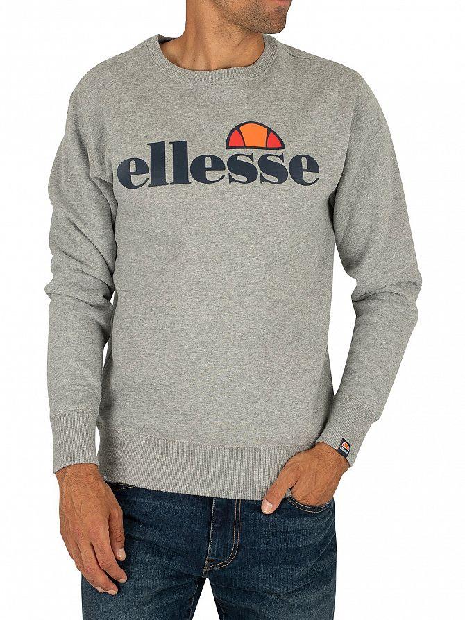Ellesse Grey Marl SL Succiso Sweatshirt