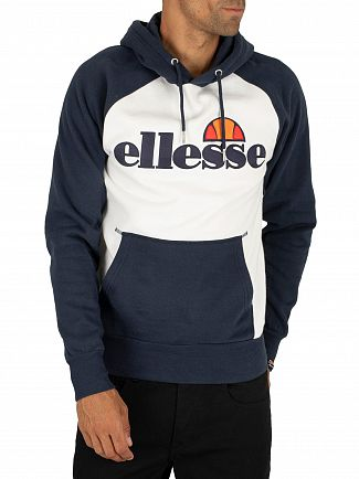 Ellesse White Taliamento Pullover Hoodie