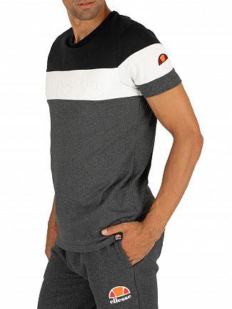 Ellesse Dark Grey Marl Timavo T-Shirt