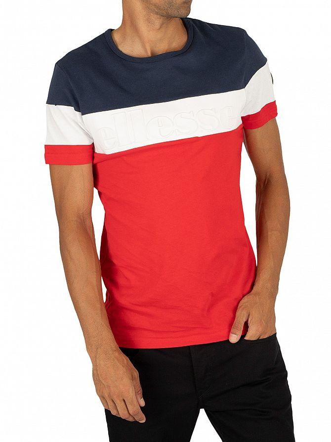 Ellesse Red Timavo T-Shirt