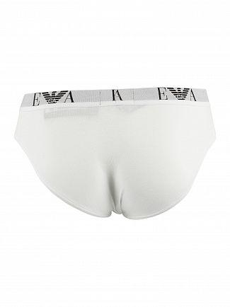 Emporio Armani White 3 Pack Briefs