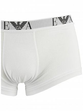 Emporio Armani White/Black/Navy 3 Pack Trunks
