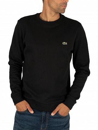 Lacoste Black Logo Sweatshirt