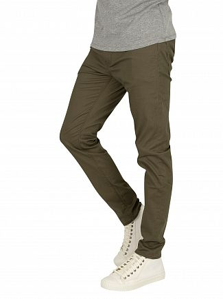 Levi's Olive Night Sorbtek 512 Slim Taper Jeans