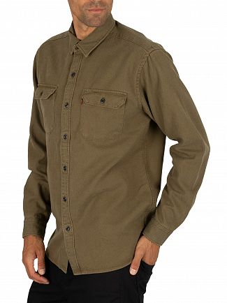 Levi's Olive Night Jackson Worker Shirt