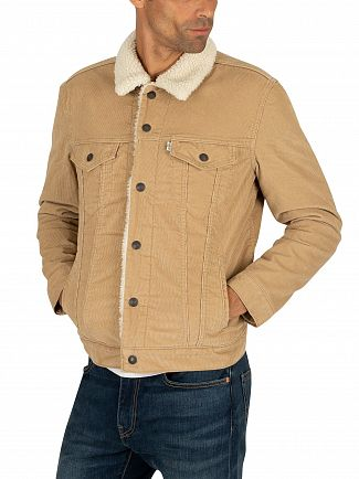 Levi's True Chino Cord Type 3 Sherpa Trucker Jacket