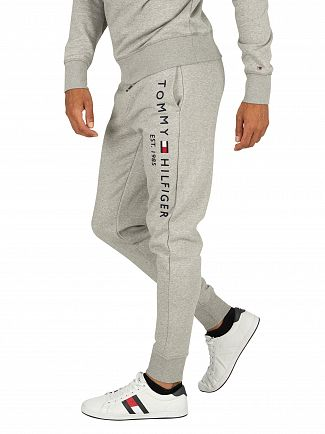 Tommy Hilfiger Cloud Heather Basic Branded Joggers