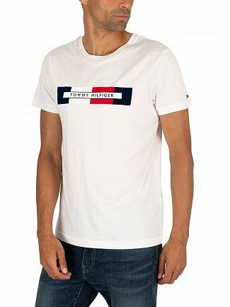 Tommy Hilfiger Bright White Box Logo T-Shirt