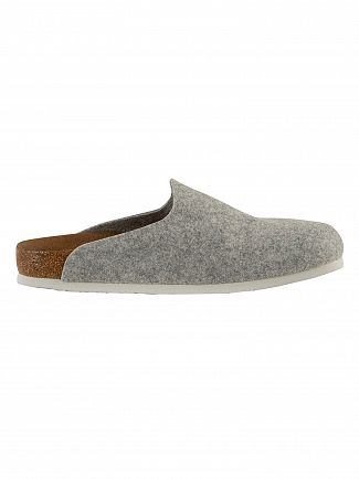 Birkenstock Grey Amsterdam BS Vegan Slippers