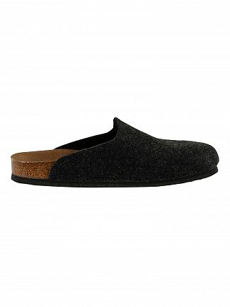 Birkenstock Anthracite Amsterdam BS Vegan Slippers