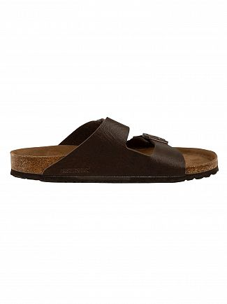 Birkenstock Espresso Arizona BS Vegan Sandals