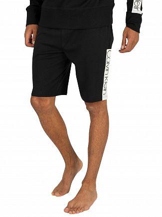 Calvin Klein Black Compact Flex Sleep Shorts