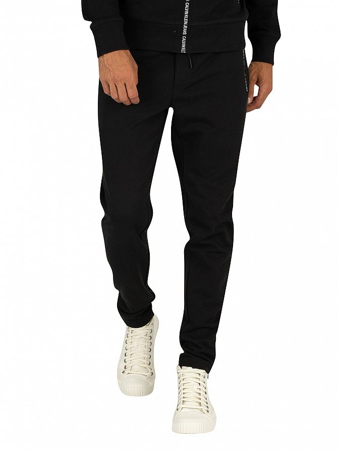 Calvin Klein Jeans Black Beauty Instit Pocket Joggers