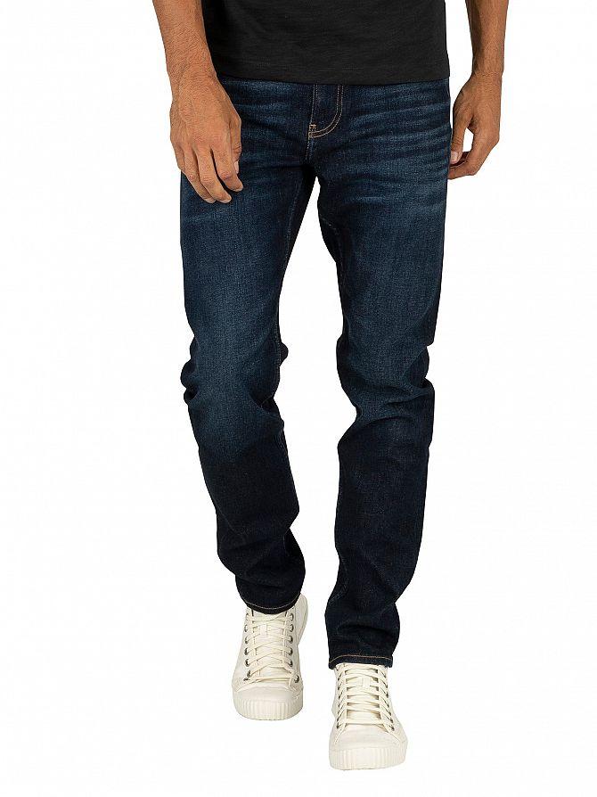 Calvin Klein Jeans Dark Blue Slim Taper Jeans