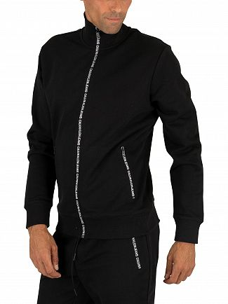 Calvin Klein Jeans Black Beauty Zip Track Jacket