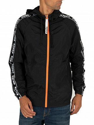 Diadora Black Trofeo Jacket