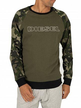 Diesel Green Max Sweatshirt