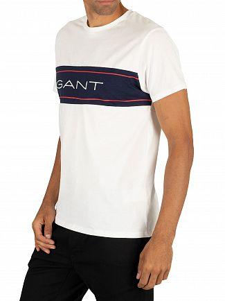 Gant White Archive T-Shirt