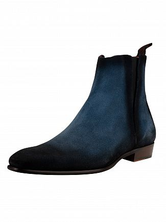 Jeffery West Jeans Shadow Suede Slip On Boots
