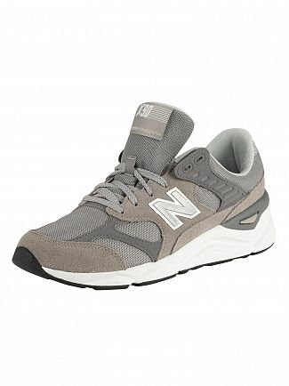 New Balance Grey X 90 Trainers