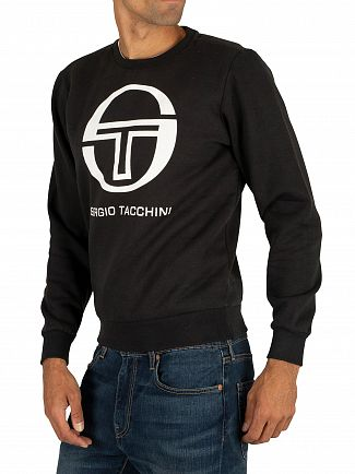 Sergio Tacchini Black/White Zelda Sweatshirt