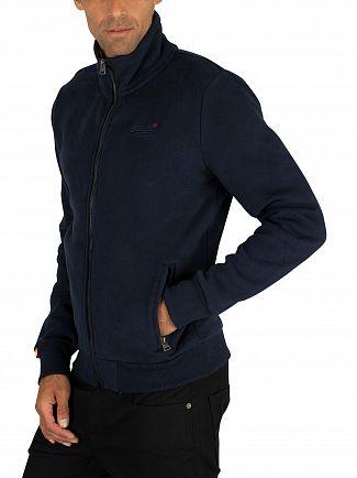 Superdry Rich Navy Orange Label Track Top Jacket