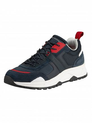 Tommy Hilfiger Red/White/Blue Fashion Mix Trainers