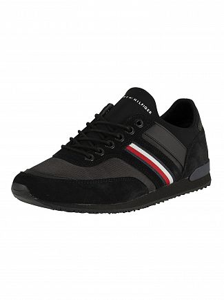 Tommy Hilfiger Black Iconic Sock Runner Trainers