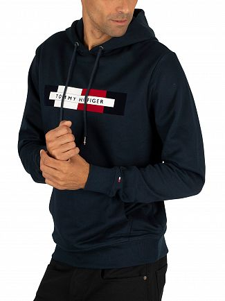 Tommy Hilfiger Sky Captain Logo Pullover Hoodie