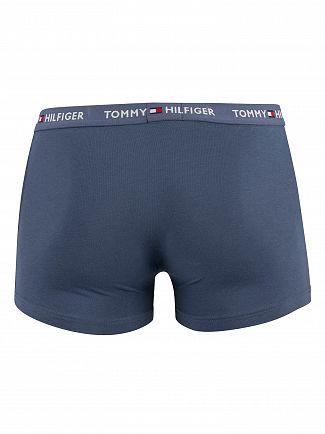 Tommy Hilfiger Blue Indigo Logo Trunks