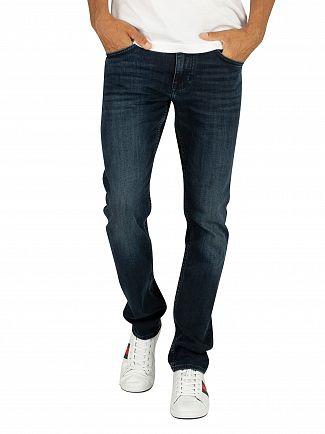 Tommy Hilfiger Basin Blue Straight Denton Jeans