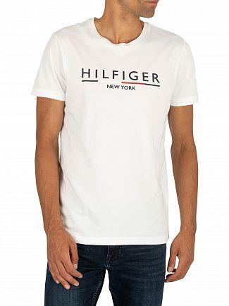 Tommy Hilfiger Bright White Underline T-Shirt