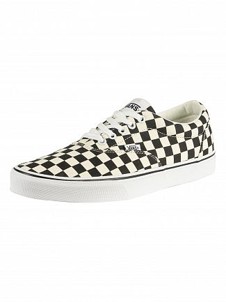Vans Black/White Doheny Checkerboard Trainers