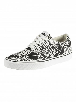 Vans Black/White Doheny Repeat Trainers