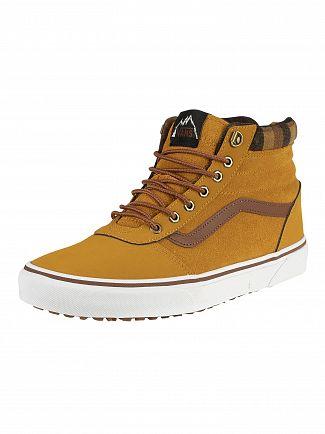 Vans Honey/Plaid Ward Hi MTE Suede Boots