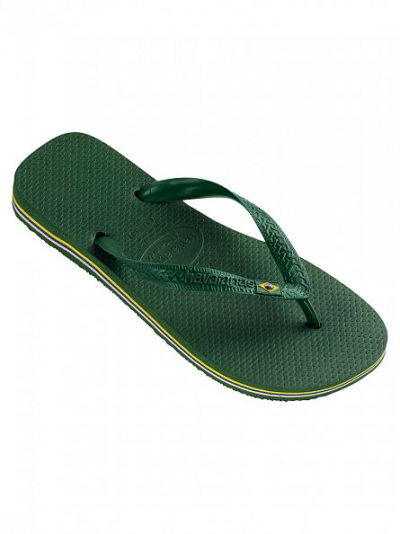 Havaianas Amazonia Green Brasil Flip Flops