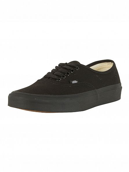 Vans Black/Black Authentic Trainers